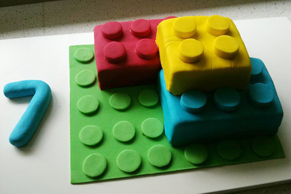 lego cake mold instructions